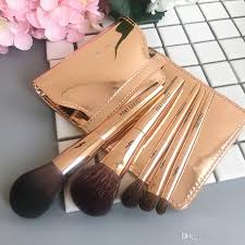 travel pony images Pony effect mini brush set pouch rose gold travel size makeup jpg