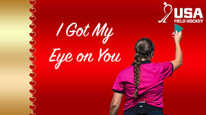 hockey valentines cards your with usa field hockey s day cards