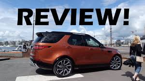 2018 land rover discovery black 2018 land rover discovery review youtube