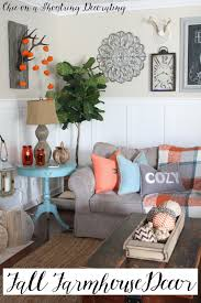 Home Decor Blogs 2015 Chic On A Shoestring Decorating Fall Farmhouse Decor To Last All