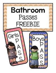 bathroom pass ideas 24 best potty passes images on classroom decor
