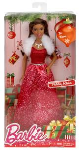 barbie holiday wishes doll african american