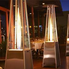 tall propane patio heaters outdoor patio heater u2013 retractable propane gas patio heater