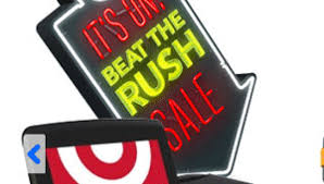 rush at target in black friday early target black friday 2012 sale offers ipod touch with 20
