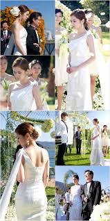 jang nara in a pure white wedding dress hancinema the korean