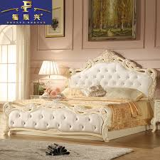 Princess Bedroom Furniture Bed Double Bed 18 Meter High Storage Box Princess Bedroom Furniture