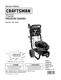 craftsman 580 752210 operating instructions