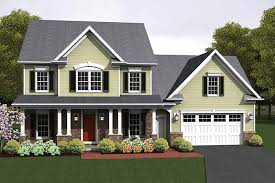 colonial style house plans colonial style house plan 3 beds 2 5 baths 1775 sq ft plan 1010