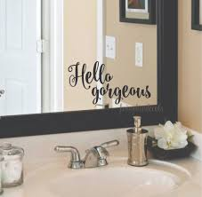 Frameless Molten Wall Mirror by Decorative Bathroom Mirrors Canada Best Bathroom Decoration