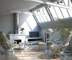 meuble en rotin pour veranda salon en rotin tissu convertible tous les styles pour aménager