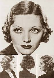 hair style names1920 31 best 1930s curly hair images on pinterest 1930s makeup hair
