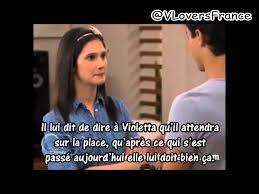 Resume Francais Résumé Episode 41 Français Violetta 2 Youtube