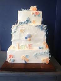wedding day details ideas cake buttercream frosting pink