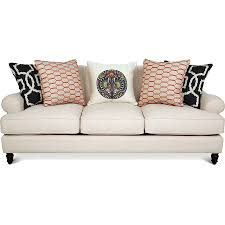 Klaussner Audrina Carlin Contemporary Sofa Sectional Group With Loose Back Pillows