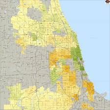 Zip Code Map Of Chicago by Where Chicago Area Home Prices Have Risen And Fallen The Most