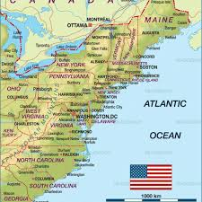 map of america showing states and cities map of usa showing states map of usa