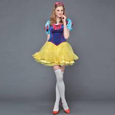 Snow White Halloween Costume Adults Aliexpress Image