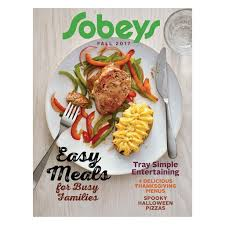 sobeys on our fall magazine is out now in store