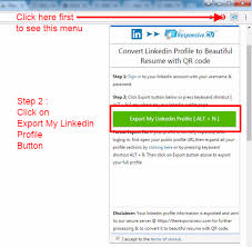 Linkedin Profile In Resume Is There A Useful Tool For Converting A Linkedin Profile Into A