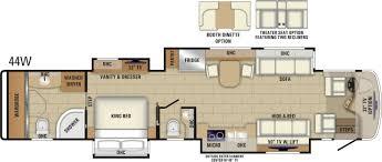 Luxury Rv Floor Plans by 2018 Insignia Luxury Class A Mortorhome Entegra Coach