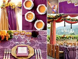 Purple And Silver Wedding Top 5 Color Combination Ideas For Purple Weddings