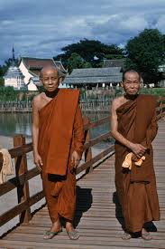 Monks at a bridge opening in northern thailand blog spurlock