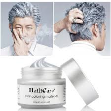 Color For Gray Hair Enhancing Amazon Com Hair Color Styler Wax 90ml Silver Ash Haircolor Wax