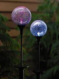 Crackle Globe Solar Lights by