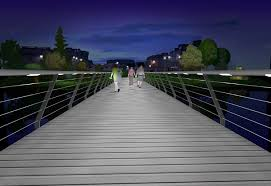 Illuminated Handrail Design Clinic Three Ways To Light A Footbridge Lux Magazine