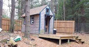 Tiny Guest House Man Builds And Lives In 90 Sq Ft Tiny House Mortgage Free