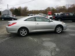 toyota camry solara 2005 toyota camry solara 2dr coupe w warranty for sale in hyannis