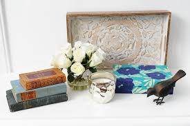 How To Style A Coffee Table Interior Design Diy How To Style A Tray For Your Coffee Table Or