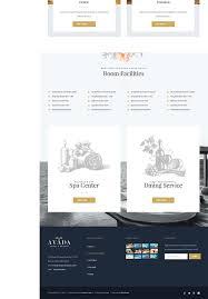 avada hotel u0026 resort website template websitelot com