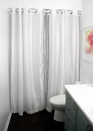 Design Shower Curtain Inspiration Budget Bathroom Makeover 10 Creative Diy Shower Curtains Diy