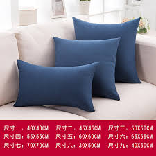 headrest pillow for bed linen solid large pillow office cushion bed headrest cushion