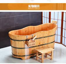 vasche da bagno legno doppio cedro legno ispessimento adulto vasca da bagno con