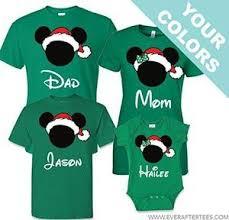 christmas shirts disney family santa mickey t shirts disney family vacation