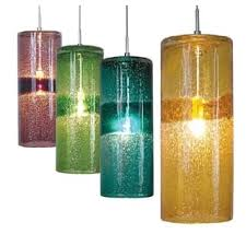 Colored Glass Pendant Lights Purple Ceiling Lights For Less Overstock Com