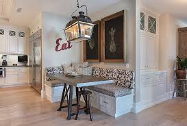 Kitchen Magnificent Built In Corner 25 Space Savvy Banquettes With Built In Storage Underneath