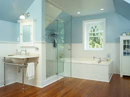 small blue bathroom ideas bathroom blue master bathroom ideas with white clean wainscoting