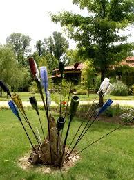 292 best bottle trees images on pinterest bottle art bottle