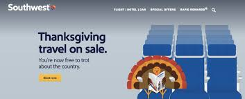 thanksgiving offers thanksgiving flights sale with southwest deals we like
