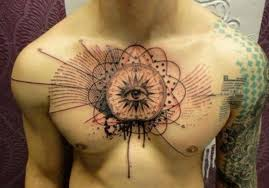 110 best chest tattoos for and piercings models