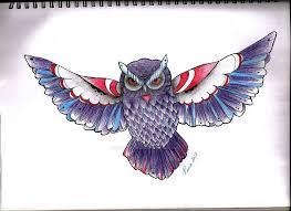 owl tattoo design by hard art rima on deviantart