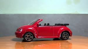 volkswagen red car red volkswagen toy car youtube
