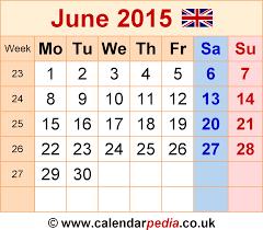 printable calendar 2015 for july calendar june 2015 uk bank holidays excel pdf word templates