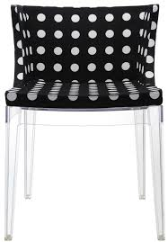 mademoiselle black u0026white kartell chair milia shop