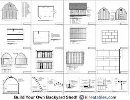Free Barn Plans 14x20 Gambrel Shed Plans 14x20 Barn Shed Plans