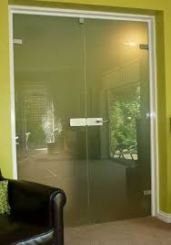 hinge glass door hinged frameless internal glass doors made to size and delivered