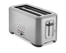 4 Slice Toasters On Sale Breville Bit More Toaster Long Slot 4 Slice Williams Sonoma